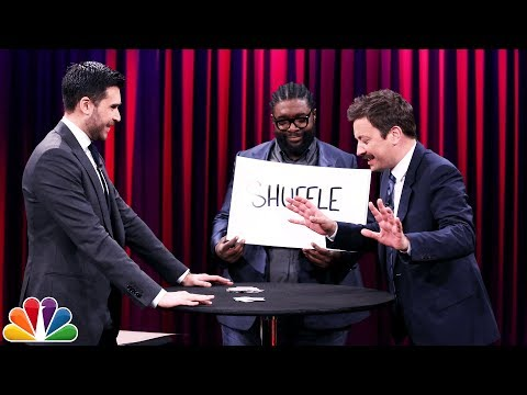 Magician Dan White Freaks Out Jimmy and Questlove with a Time Traveling Card Trick