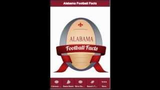 Alabama Football Facts YouTube video