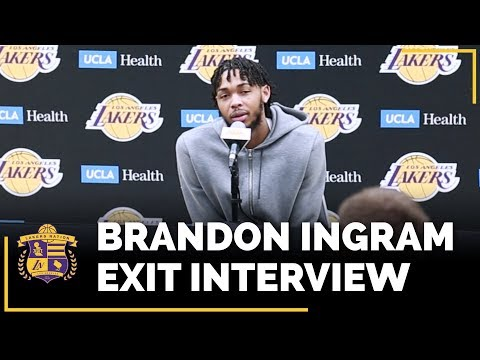Video: Lakers Exit Interviews 2018: Brandon Ingram (With Time Stamps!)