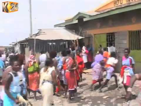 Women raid bars in Isinya Trading Centre, destroy property
