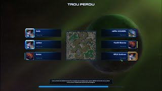 StarCraft II - Lotv 3v3 - Trou Perdu - (Ladder-Zerg) - Masss Roach !!