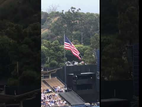 Wrong song is played for National Anthem