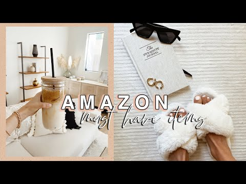30 THINGS I GOT FROM AMAZON that change my life!!