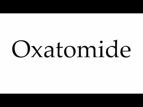 How to Pronounce Oxatomide