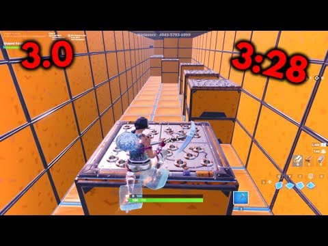 3:28 Cizzorz Deathrun 3.0 Levels 1-10 WORLD RECORD