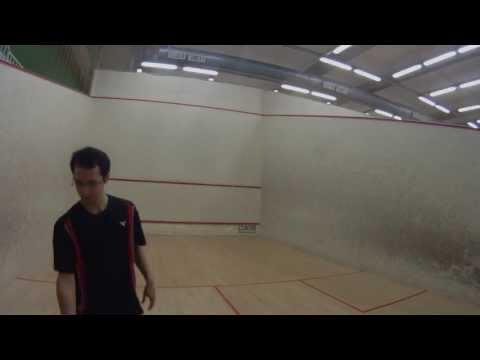 How to make the Serve in squash – Squash Tactics Tutorial.