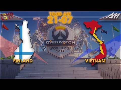 2017 Overwatch World Cup | Australia Group Stage | Sweden OW vs Portugal OW