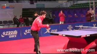 Разминка в настольном теннисе Wang Liqin / Wang Hao