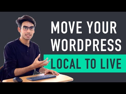How To Move Wordpress From Local Server To Live Website