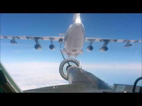 Учение сил ТОФ в дальней морской зоне при участии Ту-142, МиГ-31, Ил-38
