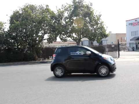 Scion iQ Test Drive 13- Turning Radius