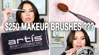 $250 Makeup Brushes WTF ? | First Impressions by Glam Life Guru