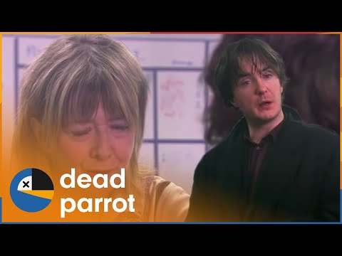 A Little Flutter | Black Books | Season 3 Episode 4 | Dead Parrot