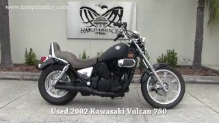 4. 2002 Used  Kawasaki Vulcan 750 Motorcycle for sale in Lakeland