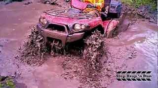 10. Kawasaki Brute Force 750 4x4 ATV Mud Hole