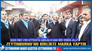 Başkan Murat Aydın Seyitnizam'da  Kadın Meclis Üyelerini Tanıttı