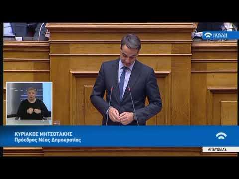 Κ.Μητσοτάκης(Πρόεδρος ΝΔ)(Συζήτηση για τη διενέργεια προκ/κής εξέτασης)(21/02/2018)