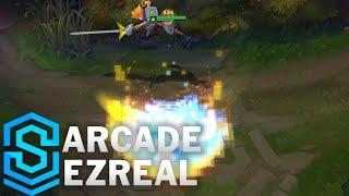 Chi tiết hình ảnh bộ trang phục mới Ezreal Giả Lập (Arcade Ezreal)