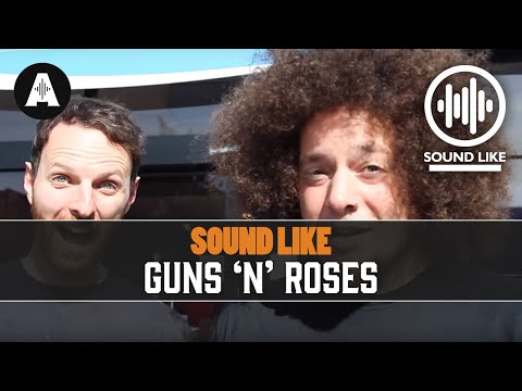 Sound Like Guns 'N' Roses - By Busting The Bank (видео)