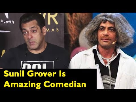 Salman Khan Can't Stop Praising Sunil Grover For H