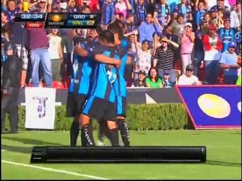 Goles de Carlos bueno en el queretaro FC.