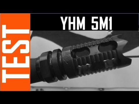 yhm - The YHM 5M1 compensator is attractive & affordable, but does it work? In this test I found that it does help reduce muzzle climb and makes the gun feel more ...