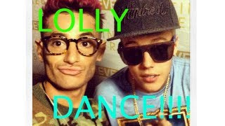 Frankie does the LOLLY DANCE!!!!!!!!!!!!!!!!