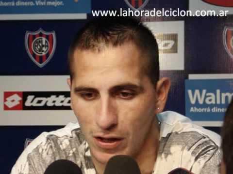 Rueda de prensa de Pablo Migliore