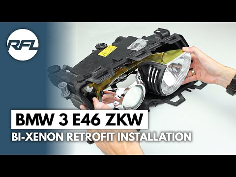 comment regler phare bmw e46