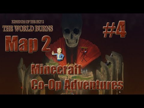Minecraft Co-Op Adventure Maps - Map:2 Kingdom Of The Sky 2 w/ EpicNibla (EP04)