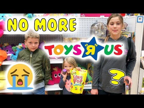 GOODBYE TOYS R US! 💔Toys R Us is Closing all Its stores FOREVER!? 😱😱😭😭