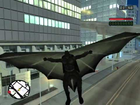 GTA San Andreas : The Dark Knight Begins (Mod&Parody)