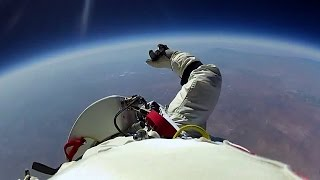 Jumping From Space! - Red Bull Space Dive - BBC