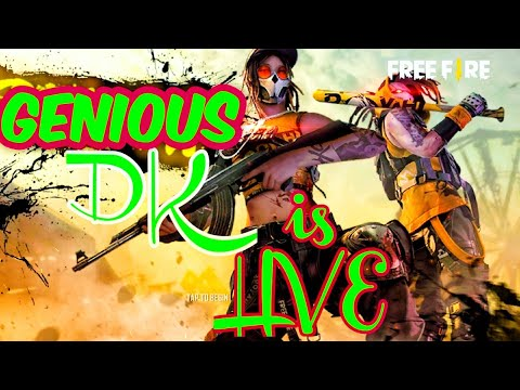 Free Fire live with dj alok gameplay road to heroic in clash sqaud🤩🤩
