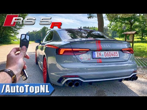 Audi RS5 R MTM 308km/h!! REVIEW POV On AUTOBAHN & ROAD By AutoTopNL