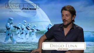 """""""Rogue One: Una historia de Star Wars"""" Entrevista con Diego Luna"""