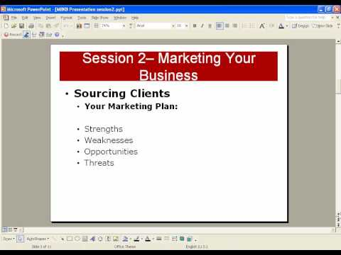 Start a Bookkeeping Business Session 2 preview.wmv