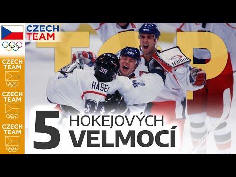 TOP: 5 hokejových velmocí
