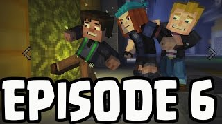 """Minecraft: Story Mode - EPISODE 6 - """"A Portal To Mystery"""" GAMEPLAY PREDICTIONS *SPOILERS*"""