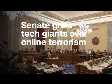 Senate committee grills tech giants over online terrorism
