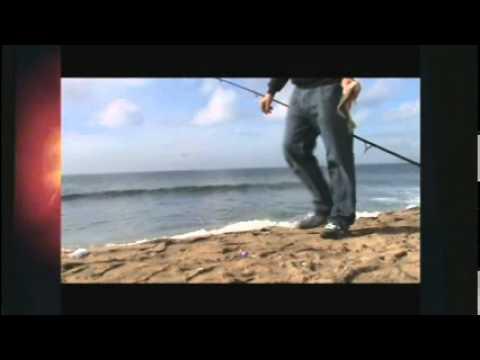 Surf Fishing for Spotfin Croaker – Sunset Beach, CA 2010