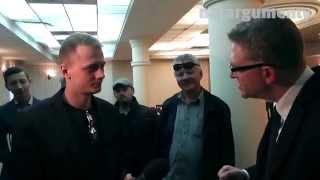 """Jeszcze nikt nie powiedział tak kulturalnie """"odpie*dol się!"""" Grzegorz Braun vs młody dziennikarz TVN24"""