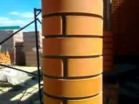 Круглые столбы своими руками