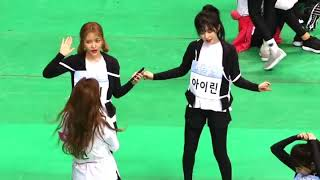 Video Red Velvet dancing LIKEY with Twice Nayeon at ISAC 2018 [full song] MP3, 3GP, MP4, WEBM, AVI, FLV Juli 2018