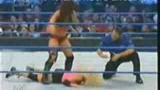 Torrie Wilson vs Victoria Smackdown 11-23-07