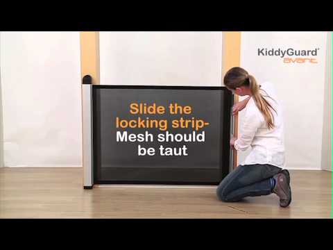 How to fit the Lascal KiddyGuard to a Doorway