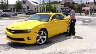 Bumblebee: A Love Story (test Driving The 2010 Chevy Camaro)
