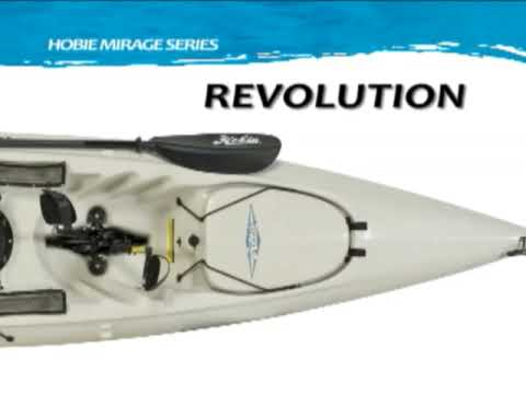 Hobie Mirage Revolution Kayak Overview