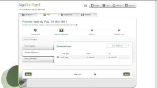 Sage One Payroll - Processing a Pay Run