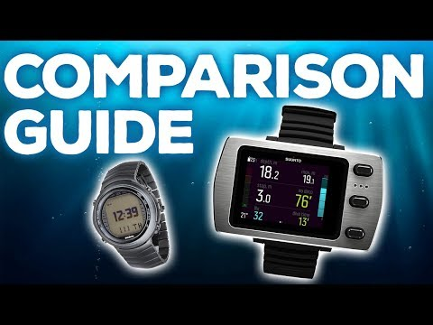 Dive Computer Comparison Guide